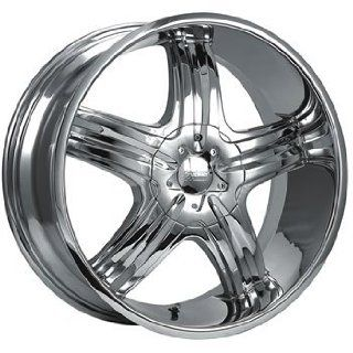 Cruiser Alloy Impulse 20x9 Chrome Wheel / Rim 5x4.5 & 5x4.75 with a
