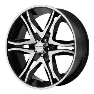 American Racing Mainline 20x8.5 Machined Black Wheel / Rim 6x135 with