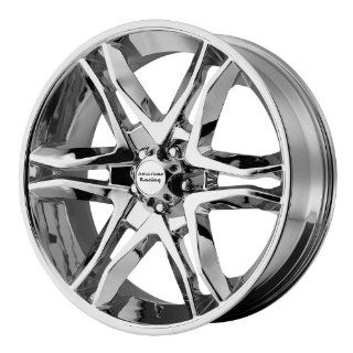 American Racing Mainline 18x8.5 Chrome Wheel / Rim 6x5.5 with a 30mm