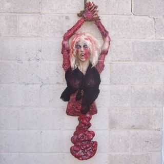 Hanging Body Bloody Guts Halloween Haunted House Prop