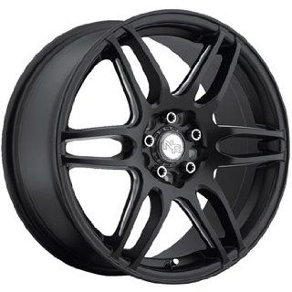 Niche NR6 18x8 Black Wheel / Rim 4x100 & 4x4.5 with a 40mm Offset and