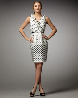 kate spade natalia polka dot dress