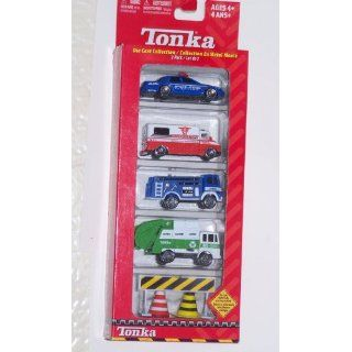 Tonka Die Cast Collection City Vehicles 7 Piece Set Toys