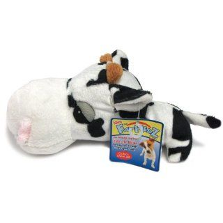 Mini FatHedz Plush Mini Cow Dog Toy