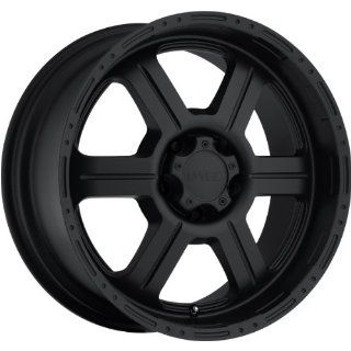 Tec Off Road 20 Matte Black Wheel / Rim 6x5.5 with a 18mm Offset and