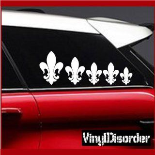 Family Decal Set Fleur De lis Stick People Car or Wall