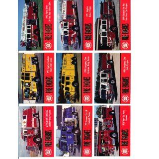 1993 Fire Engines Trading Cards Series 1 Complete 100 Card