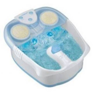 Conair Foot Bath Lighted Waterfall Spa Massage Foot Bath w Heat
