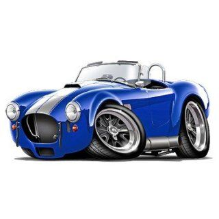 Shelby Cobra race car Wall Graphic Decal Decor 36