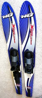 HO XTRA SUPER SHAPED COMBO WATER SKI ADJUSTABLE BINDING ESA 900 SQ IN