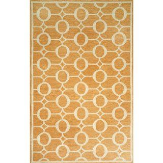 Indoor/Outdoor Hand Tufted Area Rug Arabesque 8 Square