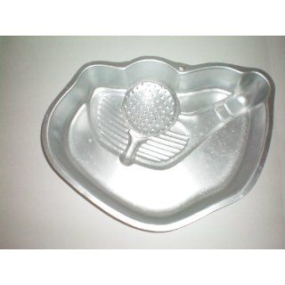 Wilton Tee It Up Golf Cake Pan w/ Instructions    as shown