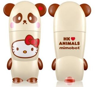 Hello Kitty Loves Animals Blotz Panda 2GB USB Flash Drive