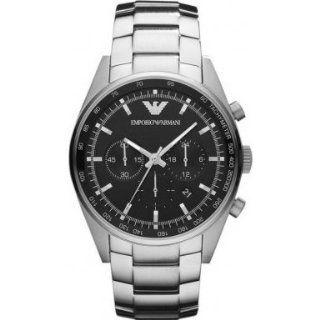 Emporio Armani AR5980 Mens Sportivo Chronograph Silver Watch Watches