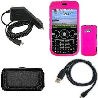 iNcido Brand LG 900G Combo Rubber Hot Pink Protective Case
