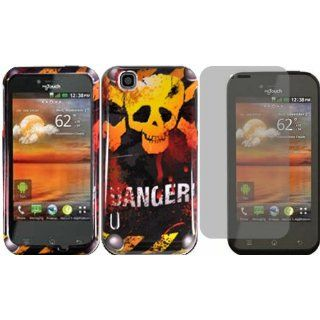 Danger Hard Case Cover+LCD Screen Protector for T Mobile