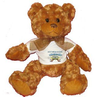 And On The 8th Day God Created AUDITORS Plush Teddy Bear