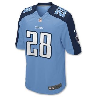 Nike NFL Tennessee Titans Chris Johnson Mens Replica Jersey