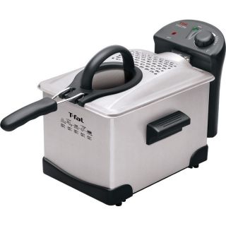 FR1014002 Easy Pro Enamel 3 Liter Deep Fryer in Stainless Steel