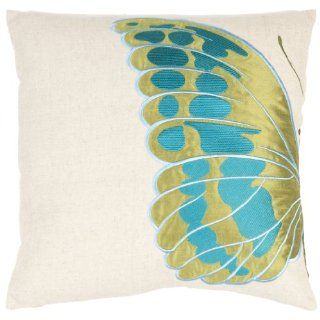 Safavieh Pillow Collection Majestic Butterfly 18 Inch