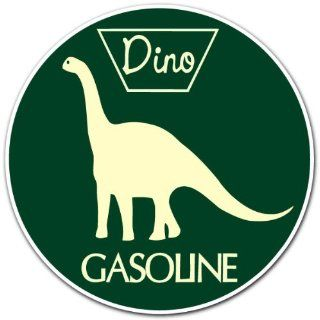 Sinclair Dino Gas Gasoline Racing Car Bumper Sticker Decal