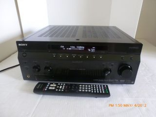Sony Str DA3300ES Home Theater 7 1 Receiver HDMI