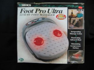 FOOT Massage Heat HOMEDICS Foot Pro Ultra AK 2 REJUVENATES ENTIRE BODY