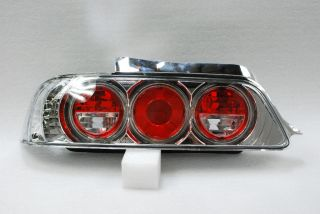 97 02 Honda Prelude Type SH vtec Sport Coupe Chrome Clear Tail Lights