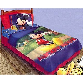 Mickey Mouse Clubhouse   Disney Twin Comforter & Sheet Set
