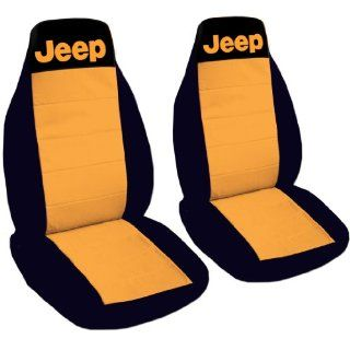 1990 Jeep Wrangler YJ seat covers. One front set of seat covers. Black