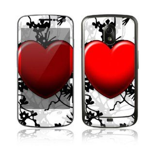 Floral Heart Decorative Skin Cover Decal Sticker for