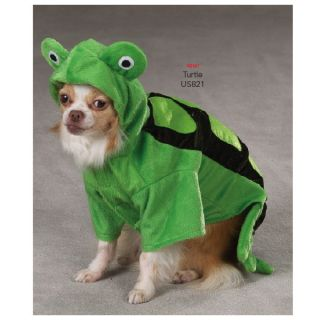Zack Zoey Turtle Pet Dog Halloween Costume XS XL