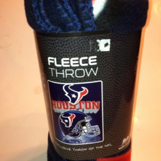 NFL Houston Texans Fleece Throw