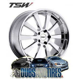 17 Inch 17x8 TSW wheels LONDRINA Chrome wheels rims