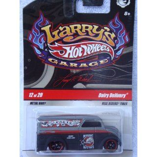 Hot Wheels Larrys Garage Series Issue Dairy Delivery #12