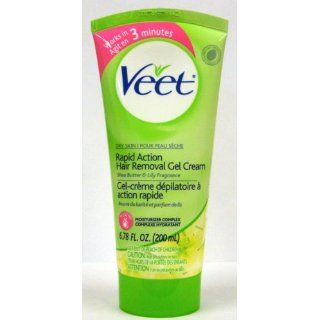Veet Hair Removal Gel Cream, Dry Skin Formula, Shea Butter