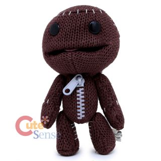 Little Big Planet Sackboy Plush Doll Toy 7 Knitted Stuffed Toy