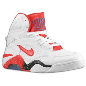 Nike Air Force 180 Mid   Mens   Basketball   Shoes   White/Photo Blue