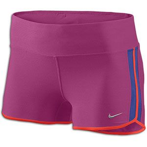 Nike 2 Boy Short   Womens   Running   Clothing   Rave Pink/Night
