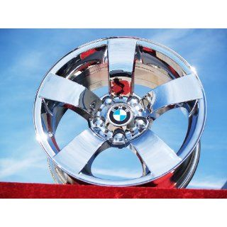 BMW 525i SportStyle 122 Set of 4 genuine factory 17inch chrome wheels