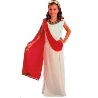 Roman Greek Goddess Childs Fancy Dress Costume S 122cms
