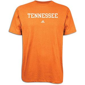 adidas College School Block T Shirt   Mens   Tennessee   Light Orange