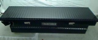 60 Long x 16 Wide Aluminum Mid Size Cross Bed Truck Tool Box