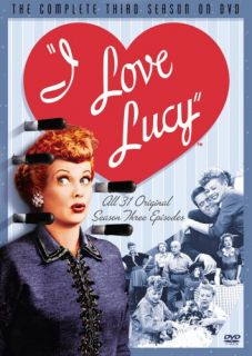 Love Lucy Complete Season 3 SEALED New 5 DVD Set