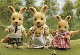 Springer Kangaroo Family UK Sylvanian Families Figures 4766