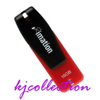 Imation 16GB 16g USB Flash Drive Password Red Nano Pro