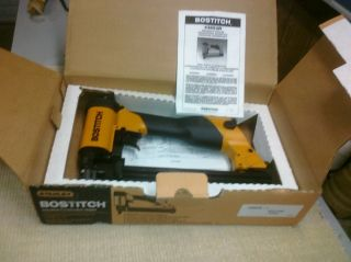 Industrial Construction Crown Stapler with Box of Staples