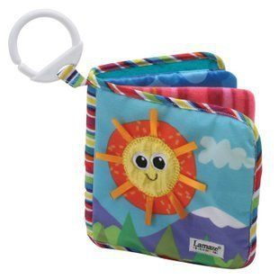 Baby Kid Child Lamaze Discovery Cloth Book Rattle Crinkle Squeaky Toys