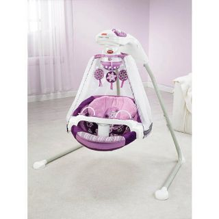 Baby Swing Fisher Price Sugar Plum Cradle Swing