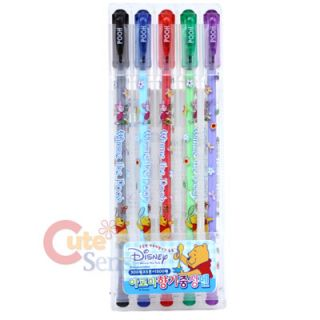 Disney Winnie Pooh Friends Gel Ink Pens 5pc 0 38mm